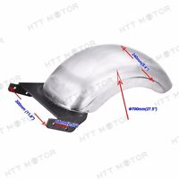 "HTTMT CUSTOM 9"" REAR FENDER 180/200 WIDE TIRES STRUTLESS For HARLEY SOFTAIL FAT"
