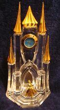 Franklin Mint Disney Cinderella Clock Castle Crystal