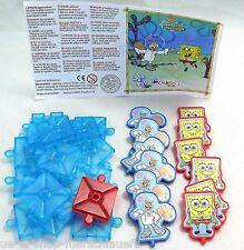 Maxi Ei Spongebob 3 in einer Reihe S-3N-6 mit BPZ 2005 Kinder Freude Ferrero