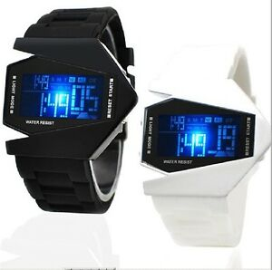 Digital Watch Fashion Sports With LED Light Unisex Men Women Boys Girls