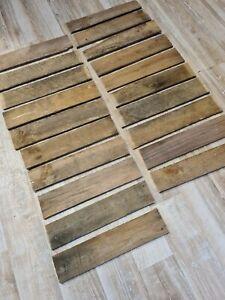 20 Bretter von alten Weinkisten Holzkisten Altholz Holzbrettchen