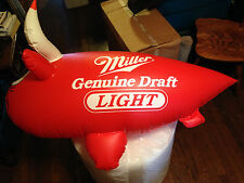 MILLER GENUINE DRAFT LIGHT CHICAGO BULLS INFLATABLE BLIMP 44 INCHES / REAL PICS