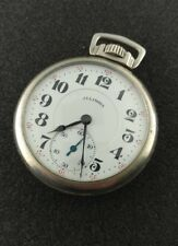 VINTAGE 17S ILLINOIS 23J SANGAMO SPECIAL POCKET WATCH DISPLAY BACK FROM 1923!