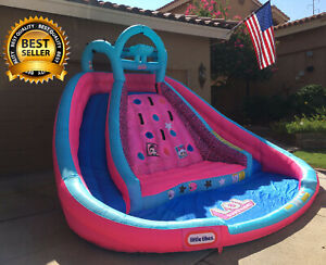 L.O.L. Surprise Inflatable River Race Water Slide w/Blower NEVER USED