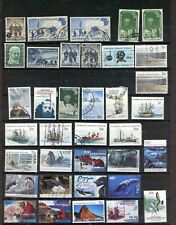 AUSTRALIAN ANTARCTICA TERRITORY--Acumulation of 53 stamps