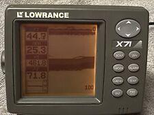 Lowrance X-71 Fishfinder