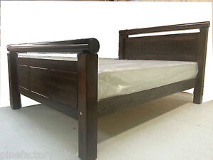 CHUNKY PINE BED FRAME WITH EXTRA STRONG BED SLATS