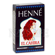 Henne Masria El Cahira - henne rapido mogano - 90 g - Henne per capelli