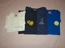 SOFTBALL ESF EUROPEAN CUP COMMEMORATIVE T-SHIRTS – LOT OF FOUR (4) – NEW