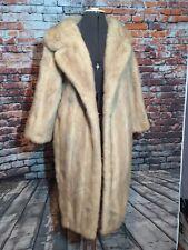 Mink Coat Vintage Blonde Leakas Fur Stroller length 1950-60's