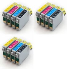 12 Non-OEM Ink Cartridges T0715 for Epson Stylus BX300f BX310fn BX600FW BX610FW