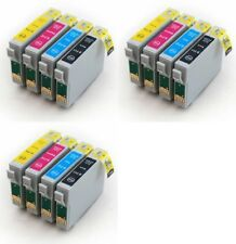 12 Non-OEM Ink Cartridges T0715 for Epson Stylus SX515w SX510w SX200 SX205 SX215