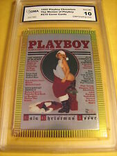 THE WOMEN OF PLAYBOY 1995 PLAYBOY CHROMIUM COVER # 270 GRADED 10 L@@@K