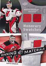09-10 Trilogy Martin Brodeur Dual Jersey Honorary Swatches