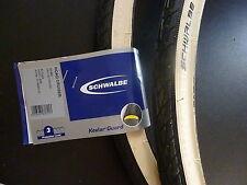2 nuevos Schwalbe roadcruiser neumáticos weisswand 28x 1 3/8, 37-622 hs 377 perfil