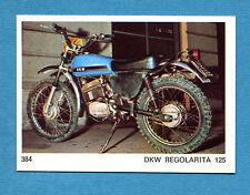 AUTO E MOTO - Figurina-Sticker n. 384 - DKW REGOLARITA 125 -New