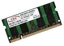2gb di RAM NETBOOK LG x110 x120 x130 x140 SO-DIMM 800 MHz memoria di marca CSX/Hynix