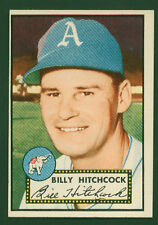 1952 Topps #182 William Billy Hitchcock Philadelphia Athletics Baseball Card