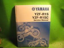 YAMAHA YZF-R1S SERVICE MANUAL BOOK OEM # LIT-11616-17-55