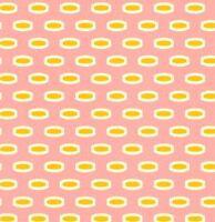 Heather Bailey Bijoux Mod Beads in Rose Fabric 1yd