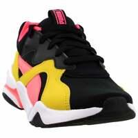 Puma Nova Funky Lace Up   Kids Boys  Sneakers Shoes Casual   - Black