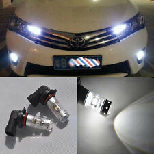 2x bright white 28 LED CREE projector Fog light BUlbs For Toyota Corolla 13-2016