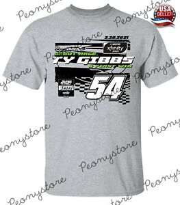 Men's Ty Gibbs Team Collection 2021 NASCAR Super Start T-Shirt S-4XL