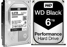 Western Digital 6TB BLACK Performance Hard Drive WD 128mb cache WD6002FZWX 6 TB