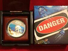 2011 1 oz Silver Proof Australia Box Jellyfish- Deadly & Dangerous