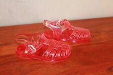 MEDUSE Chaussures de plage sandale en plastique 100% PVC rose POINTURE 23