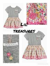 Next Knee Length Short Sleeve Casual Girls' Dresses (2-16 Years)
