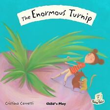 The Enormous Turnip (Flip Up Fairy Tales)-ExLibrary
