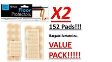 152 pack floor protector pads Furniture Value Pack Prevent Skidding Protect