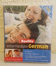 New Berlitz Intermediate German 6 Audio CD Set Illustrated Course Book