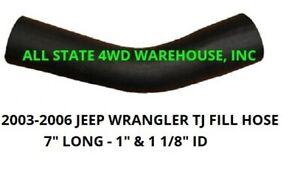 2003-2006 Jeep TJ fill hose for the 20 gallon tank