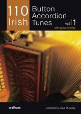110 Irish Button Accordion Tunes with Guitar Chords Irish Music Book 000634200