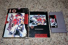 NHL Stanley Cup (Super Nintendo SNES, 1993) Complete in Box GOOD B