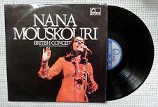 NANA MOUSKOURI British Concert Orig FONTANA Holland 2LP Gatefold Vinyl VG++
