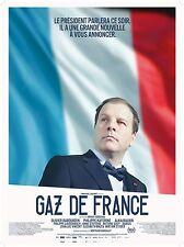 Affiche 40x60cm GAZ DE FRANCE 2016 Philippe Katerine, Olivier Rabourdin NEUVE