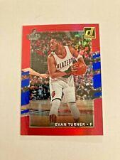 2017-18 Panini Donruss Evan Turner Rainbow Foil 3/15 Made Card #124 Very Rare