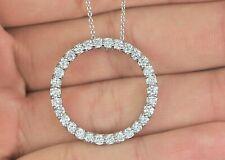 $3,700 Roberto Coin Diamond Tiny Treasures 24mm Circle Of Life Pendant Necklace