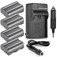 EN-EL3E Battery & Charger for Nikon D700 D300s D200 D100 D90 D80 D70s D50 Camera