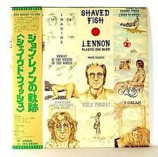 "JOHN LENNON ""Shaved Fish""  NM/NM 1975 JAPAN original 1st edition  w/ OBI"