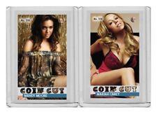 Mariah Carey rare MH Coin Cut #'d 1/3 Tobacco Style card no. 518