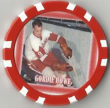 GORDIE HOWE  ** MR HOCKEY **  COLLECTOR CHIP