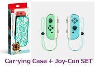 Nintendo SwitchANIMAL CROSSING Joy-con + Carrying Case New Horizons Special 2set