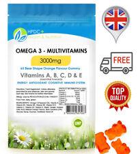 Multivitaminico Omega 3 e vitamine A, B, C, D, E immune adulto S/ENERGIA/antyoxidant