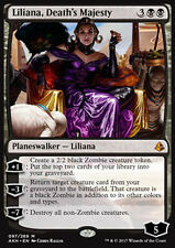 MTG LILIANA, DEATH's MAJESTY EXC - LILIANA, MAESTÀ DELLA MORTE - AKH - MAGIC