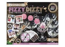 Prosecco FIZZY DIZZY KIT Party Game of Skill, Luck & Drinking Ping Pong Glass