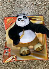 Kung Fu Panda Kickin Po Action Toy Spins Kicks Swings Nunchucks Mattel New